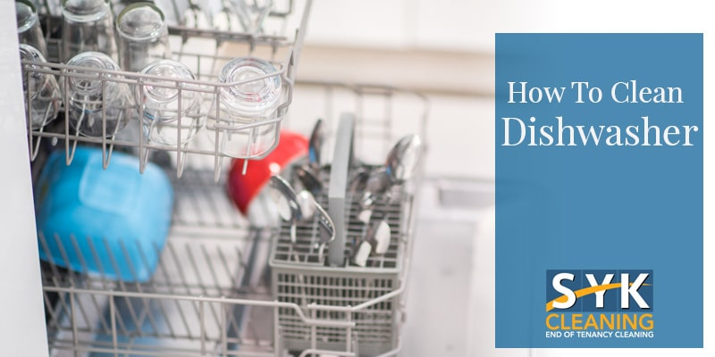 image of how to clean dishwasher