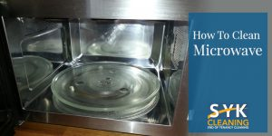image of how to clean microwave