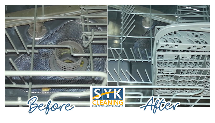 image of after tenancy cleaning before and after